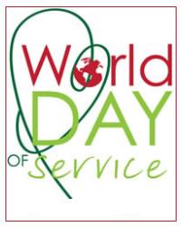 World Day of Service Logo