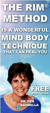 Deb Sandella RIM Method Ad