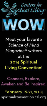 Center for Spiritual Living 2014 Convention Ad.