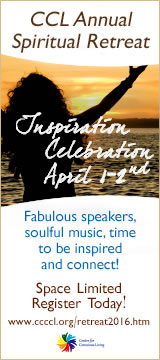 CCL Annual Spiritual Retreat ad.