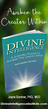 Divine Intelligence book ad.