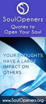 Soul Openers Quotes to Open Your Soul ad.